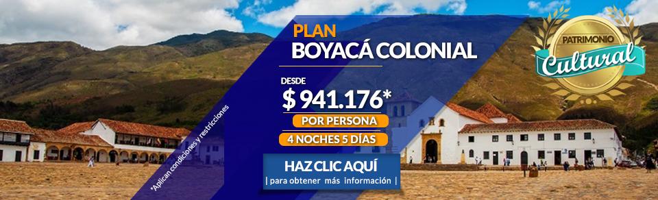 Planes Turísticos a Boyacá