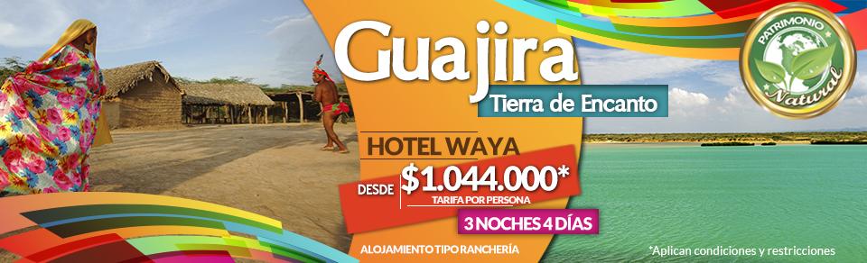 Planes Turísticos en La Guajira