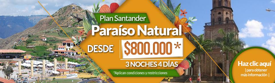 Planes turísticos en Santander