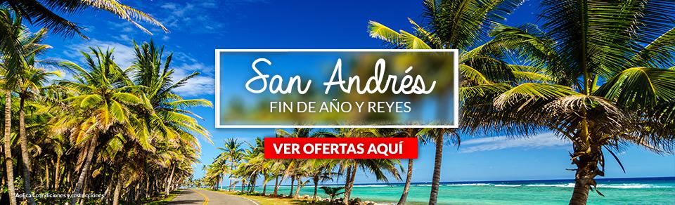 Planes turísticos en San Andrés