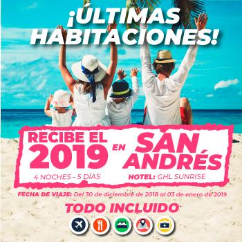 Fin de año en San Andrés