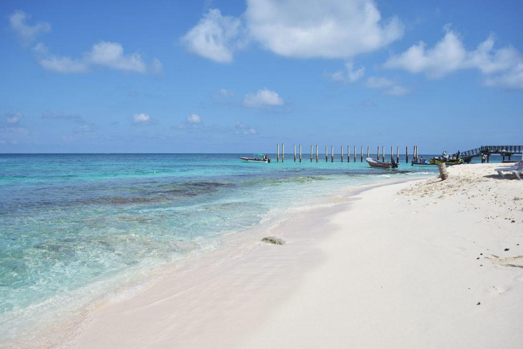 Playas en Johnny Cay