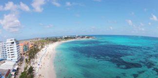 Playa Spratt Bight en San Andres Islas