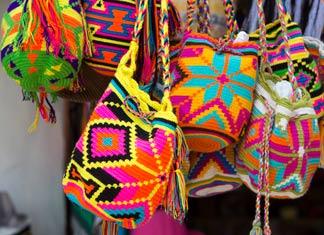 Disfruta las artesanías Wayúu